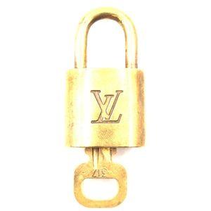 Gold Lock Keepall Speedy Alma  Key Set #317 Bag